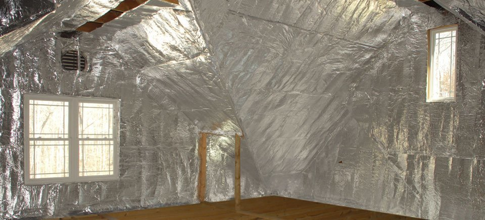 Reflective Insulation / Blown in Insulation